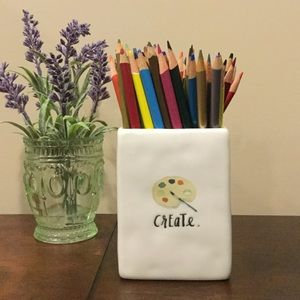 Rae Dunn Office - New Rae Dunn CREATE Pencil Cup 🎨